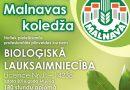 Bioloģiskās lauksaimniecības kursi