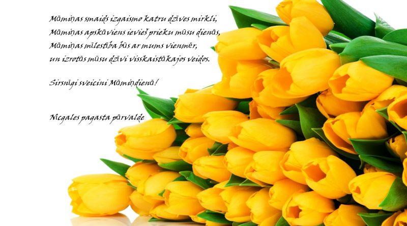 Sirsnīgi sveicieni Māmiņdienā!