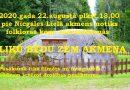 2020.gada 22.augustā plkst.13.00 pie Nīcgales Lielā akmens notiks folkloras kopu sadziedāšanās