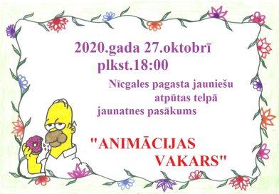 """ANIMĀCIJAS VAKARS"""