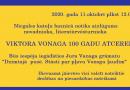 Viktora Vonoga 100 gadu atcerei