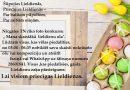 Lai visiem Priecīgas Lieldienas!